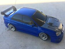 XMODS RC CAR GEN 1 BLUE SUBARU WRX STI AWD & STAGE 2 AWD