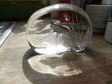 Mats Jonasson  Glass Sculpture - Mouse & Corn - Number 3262 VGC - Signed