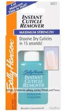 Sally Hansen^ INSTANT CUTICLE REMOVER Maximum Strength! DISSOLVES IN 15 Sec 3021