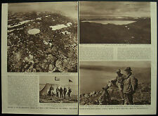 Expedition Chubb Crater Meteor Quebec Canada 1951 Magazine 2 Page Article