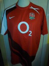 "2007-2009 Inglaterra Rugby Camiseta Xl Adulto 45/47 "" (16359)"