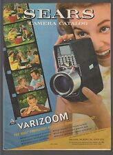 VINTAGE 1961 SEARS PHOTOGRAPHY CAMERA CATALOG! TOWER POLAROID BOLEX KODAK CANON