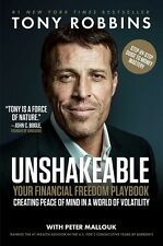 Unshakeable: Financial Freedom Playbook by Tony Robbins [Hardcover] BRAND NEW