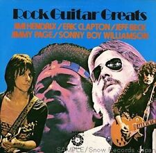 "THE GUITAR GREATS VINYL LP RECORD 12"" HENDRIX, PAGE , WILLIAMSON, BECK, CLAPTON"