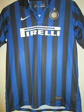 Inter Milan 2007-2008 Home Football Shirt Size 158-170cm kids /39877