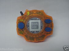 Original Bandai 1999 Digimon Japanese Digivice D2 Transparent Orange Tai Agumon
