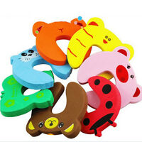 10 x Kid Baby Jammers Stop Door Stopper Lock Safety Pinch Guard Finger Protector