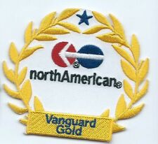 North American Van Lines Vanguard Gold truck driver patch 3 X 3-3/8