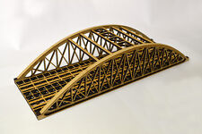 LASER CUT DOUBLE TRACK BOWSTRING BRIDGE N SCALE 1:148 MODEL RAILWAY - LX076-N