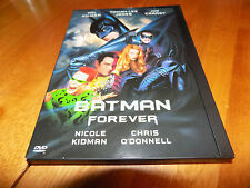 BATMAN FOREVER VAL KILMER TOMMY LEE JONES JIM CARREY Widescreen & Full DVD