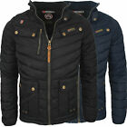Geographical Norway Argent exklusive Herren Winter Jacke Steppjacke Winterjacke