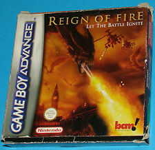 Reign of Fire - Game Boy Advance GBA Nintendo - PAL