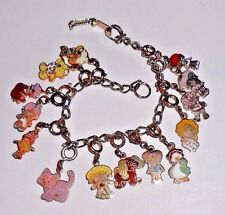 Vintage Kenner Strawberry Shortcake ALL 14 Charms Bracelet Complete Set 1980-81