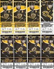 2011 STANLEY CUP CHAMPIONS BOSTON BRUINS FULL TICKET STUB - PICK ONE