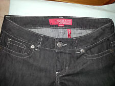 Women's Authentic GUESS Jeans Daredevil Boot Cut with Rhinestones 34x33,