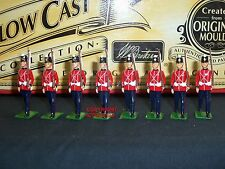 BRITAINS 40192 HOLLOWCAST FORT HENRY GUARD MARCHING METAL TOY SOLDIER FIGURE SET