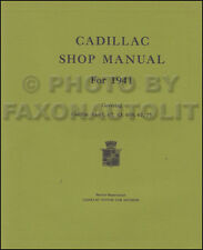 1941 Cadillac Shop Manual Supplement Repair Service Book at a good price