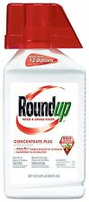 Roundup Weed and Grass Killer Concentrate Plus 36.8-Ounce NEW