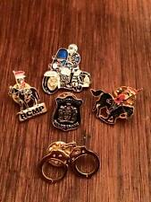 R.C.M.P lapel pin Vancouver police lot of 5 pins