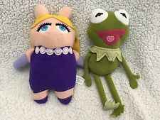 THE MUPPETS Muppet Show POOK A LOOZ Pookalooz Stuffed Plush KERMIT & MISS PIGGY