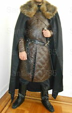 Jon Snow Costume King In The North Armor Game of Thrones