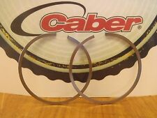 Caber 46mmx1.5mm piston rings Italy fits Stihl 028 Super 029 MS290 034