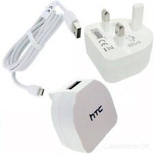 HTC TC B270 CARGADOR DE RED + CABLE USB para M7 M8 M9 HTC ONE DESIRE S SENSATION XL
