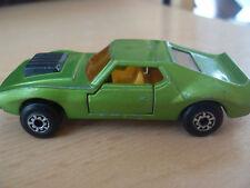 ** MATCHBOX** Lesley Superfast AMX Javelin Nr. 9, 1972, grün ** alt gebraucht **