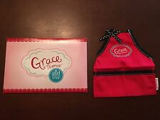 New in Box American Girl Grace Thomas Apron **Exclusive** Not Sold in Stores