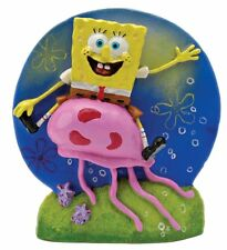Penn Plax Spongebob  JellyFish Tank Aquarium Ornament Polyresin Decoartion SBR14