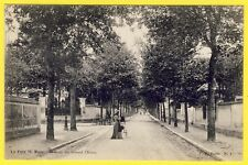 cpa 94 - SAINT MAUR des FOSSÉS Le PARC Avenue du GRAND CHÊNE Dos 1900 Vue Rare