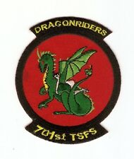 + STARGATE SG-1 Aufnäher/Patch F-302 401st Earth Starfighter Squ. DRAGONRIDERS
