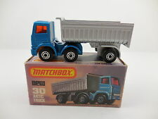 Matchbox Superfast 30 Artic Truck Blue Mint in L Box MIB