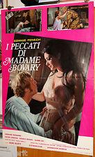 soggettone originale I PECCATI DI MADAME BOVARY Edwige Fenech 1969