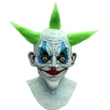 Old Clown Latex Mask W/ Hair Evil Killer Klown Halloween Ghoulish Productions
