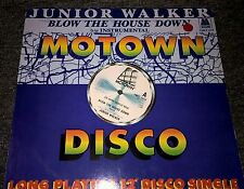 """JUNIOR WALKER AND THE ALL STARS Blow The House Down 12"""" VINYL 2 Track In A"""
