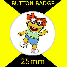 "Muppet Babies Baby Scooter - Button Badge 25mm 1"" D Pin - # CD09876"