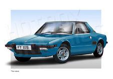 FIAT X / 19 stampa-Personalizzate illustrazione della vostra auto