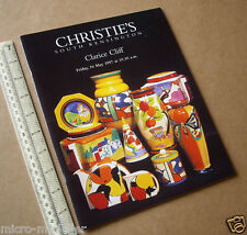 1997 Clarice Cliff One Make Auction Catalogue Christie's South Ken. Outstanding