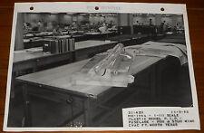 Rare Lockheed CVAC 1/10 Scale MX-1964 Model Fuselage Pod Stud Wing Photo 11-5-53