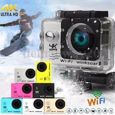 Winsoar SJ8000 Waterproof Ultra 4K 120° WiFi 2.0'' LCD Sports Action Camera Cam