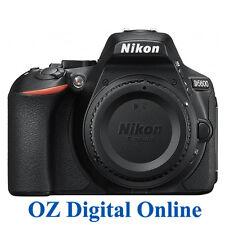 New Nikon D5600 Body WiFi NFC Bluethooth FullHD 24.2MP Camera Black 1YrWty