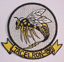 "US Navy VAQ 138 Squadron Patch - Japanese Made ""Tacelron 138""  Yellowjackets"