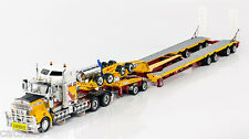 "Kenworth T909 Truck w/ Drake Trailer - ""ANDY'S EARTHMOVERS"" - 1/50 - #ZT09044"