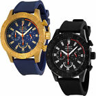 Invicta Signature II Chronograph Mens Rubber Strap Stainless Steel Watch
