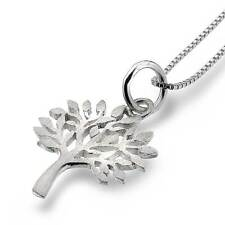 New Pure Origins Sterling Silver 925 Tree of Life Pendant Necklace P2407