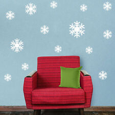New Wall Sticker Frozen Snow Flakes Vinyl Art Wall Quote Decal Sticker Removable