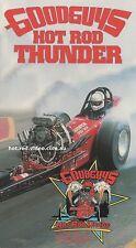 GOODGUYS HOT ROD THUNDER #1 DVD  NOSTALGA DRAG RACING street rod custom 1