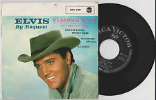 """ELVIS PRESLEY - Request RARE GERMAN 7"""" EP P/S 1961 Flaming Star FREE SHIPPING!!!"""