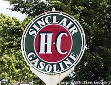 Vintage Sinclair Gast Station Sign in East Texas - Giclee Photo Print